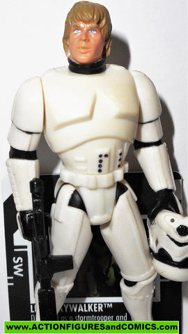 star wars action figures LUKE SKYWALKER stormtrooper disguise 1997 FREEZE FRAME