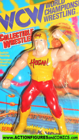 Wrestling WWF action figures HULK HOGAN wcw 7 inch 1994 toymakers wwe moc