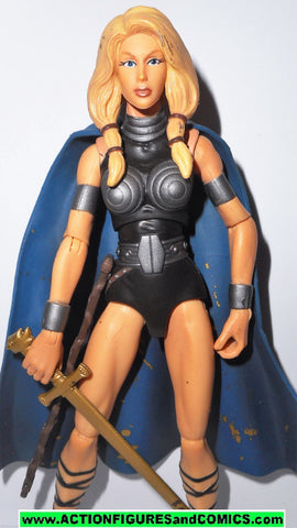marvel legends VALKYRIE Toys R Us exclusive 2 pack 2010 tru universe