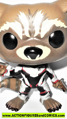 Funko POP marvel ROCKET RACCOON bobble head 462 avengers 4 endgame