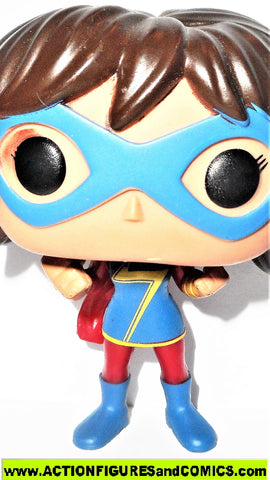 Funko POP marvel MS MARVEL kamala khan #190 Bobble head universe