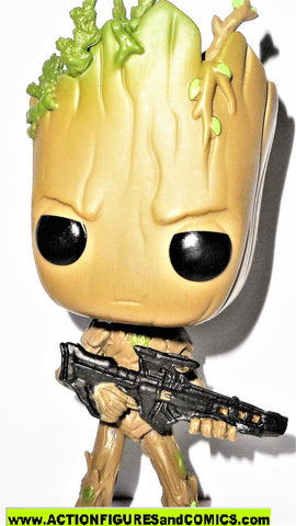 Funko POP marvel GROOT #293 Bobble head avengers infinity war