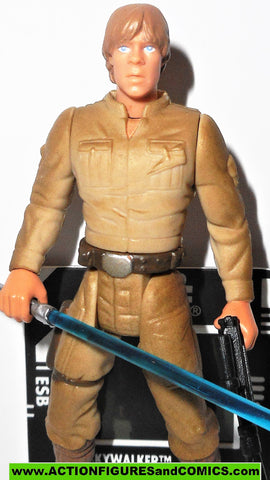 star wars action figures LUKE SKYWALKER BESPIN freeze frame 1997 power of the force potf