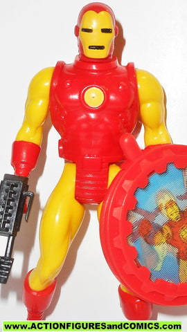 secret wars IRON MAN vintage 1984 marvel super heroes mattel action figures