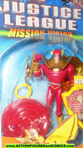 justice league unlimited FLASH mission vision 2003 dc universe moc