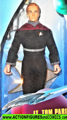 Star Trek TOM PARIS VOYAGER 9 inch playmates toys action figures moc mip mib