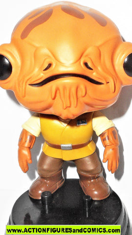 Funko POP star wars ADMIRAL ACKBAR bobble head #81 force awakens