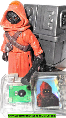 star wars action figures JAWA GONK Droid commtech power of the force