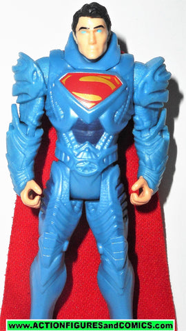 Superman man of steel movie kryptonian armor strike shield action figures