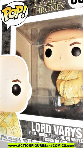 Funko Pop Game of Thrones LORD VARYS Television tv show moc mib
