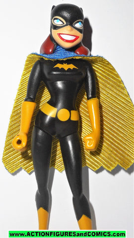 justice league unlimited BATGIRL batman animated mattel toys action figures