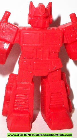 Transformers OPTIMUS PRIME Keshi surprise muscle red generation one 1 g1 style