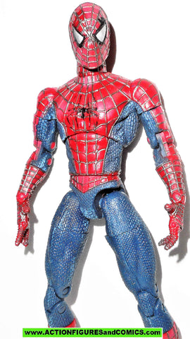 marvel legends SPIDER-MAN movie 2002 super poseable toybiz universe