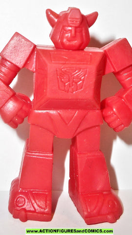 Transformers BUMBLEBEE Keshi surprise muscle red generation one 1 g1 style