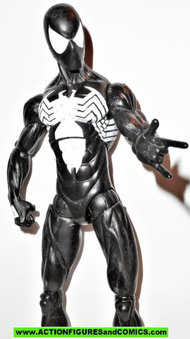 marvel legends SPIDER-MAN black costume Symbiote Suit 2009 action figure
