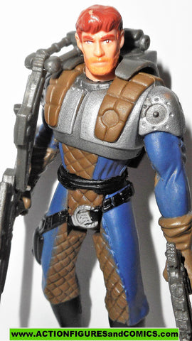 1996 Power of the Force Star Wars Vintage Hasbro Dash Rendar Shadows of the Empire Star Wars Loose Figure