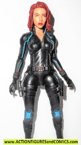 marvel legends BLACK WIDOW age of ultron movie 2015 variant blue