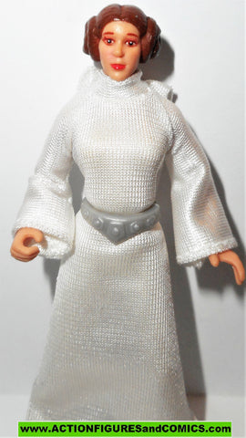 star wars action figures PRINCESS LEIA collection 1998 potf 2 II