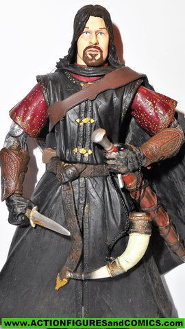 Lord of the Rings BOROMIR 2003 Super Poseable toybiz movie action figure