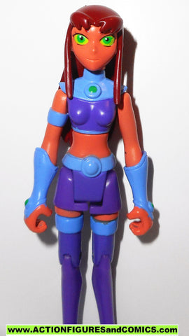 Teen Titans Go STARFIRE 3.5 inch animated cartoon dc universe 2