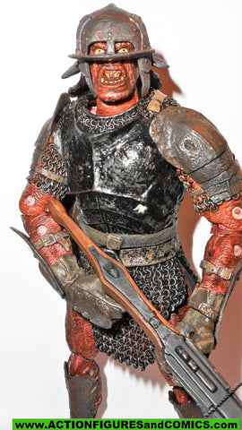 Lord of the Rings CROSSBOW URUK HAI toybiz action figure 000