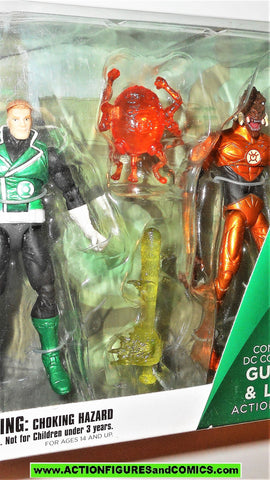 dc direct GUY GARDNER LARFLEEZE green lantern orange injustice sdcc