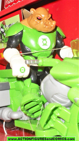 Justice League DC Super Friends KILOWOG CYCLE green lantern fisher price moc mib