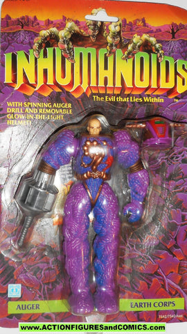 Inhumanoids AUGER 1986 hasbro toys action figure 1985 1987 monster moc