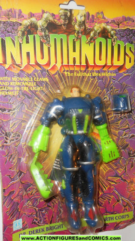 Inhumanoids DR DEREK BRIGHT 1986 hasbro toys action figure 1985 1987 monster moc