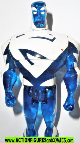 justice league unlimited SUPERMAN blue CUSTOM dc universe animated