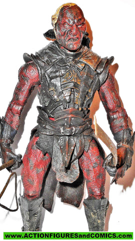 Lord of the Rings UGLUK URUK HAI toy biz complete hobbit