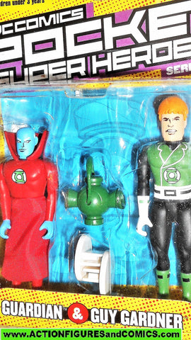 dc direct GUY GARDNER green lantern GUARDIAN pocket heroes super universe moc