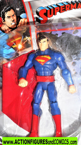 dc universe Total Heroes SUPERMAN 2013 6 inch STANDING Variant moc 00