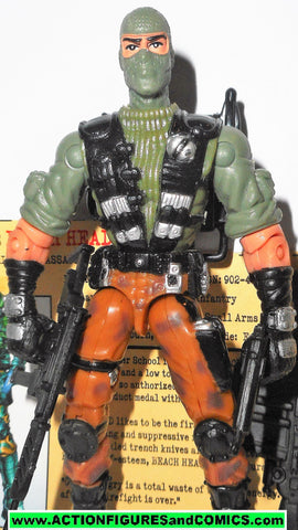 gi joe BEACHHEAD 2002 v4 beach head complete g.i joe vs cobra action figures