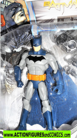 dc universe Total Heroes BATMAN detective 2013 6 inch blue action figures moc