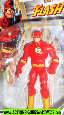 dc universe Total Heroes FLASH 6 inch STANDING variant action figures moc