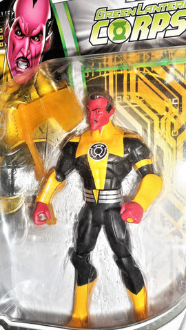 dc universe Total Heroes SINESTRO green lantern 6 inch action figures moc