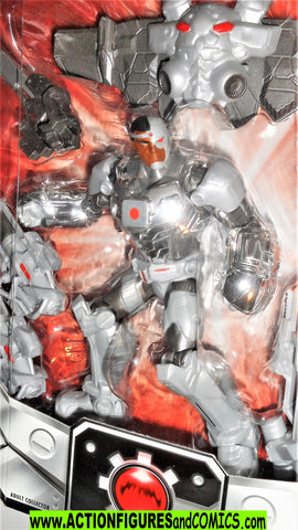 dc universe Total Heroes CYBORG Vic Stone justice league 6 inch moc
