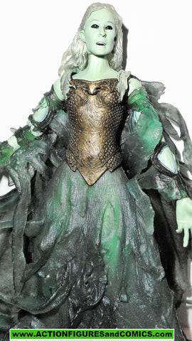 Lord of the Rings GALADRIEL entranced COMPLETE 2003 toybiz action figure