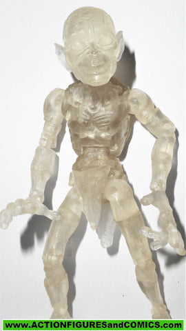 Lord of the Rings GOLLUM twilight clear invisible COMPLETE toybiz smeagol