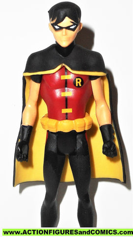 Young Justice ROBIN 4 inch dc universe justice league batman amazo pack