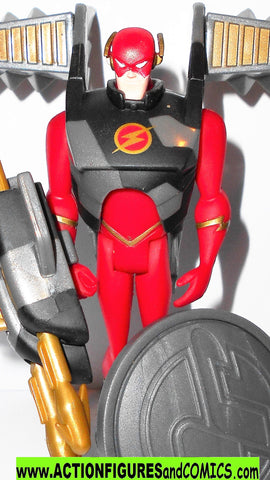 justice league unlimited FLASH mission vision 3 2003 dc universe