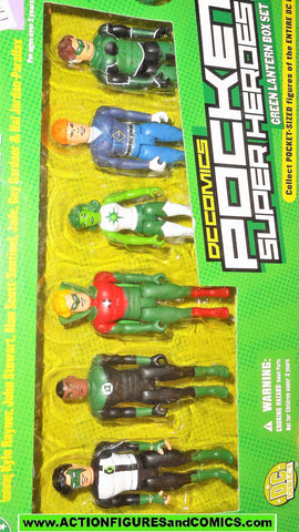 dc direct GREEN LANTERN Pocket Heroes box set dc universe gift moc mib