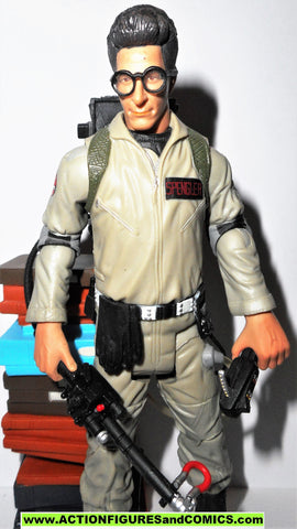 ghostbusters EGON SPENGLER library books series 1 2009 matty exclusive movie