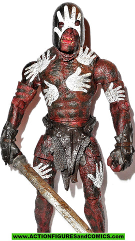 Lord of the Rings BERSERKER URUK HAI toybiz complete hobbit
