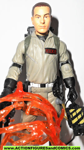 ghostbusters ROOKIE 2009 matty exclusive movie action figure