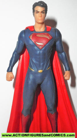 Dc direct SUPERMAN 3.5 inch collectibles Man of Steel 2013 justice league pvc