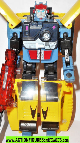 Transformers energon HOT SHOT 2003 hotshot complete rod