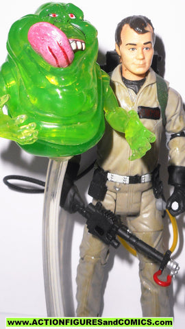 ghostbusters PETER VENKMAN slimer slimed matty exclusive action figure