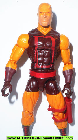 marvel legends DAREDEVIL Yellow classic walgreens series wave 2015